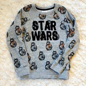 Size 7/8 Star Wars Disney Store Sweatshirt Boys